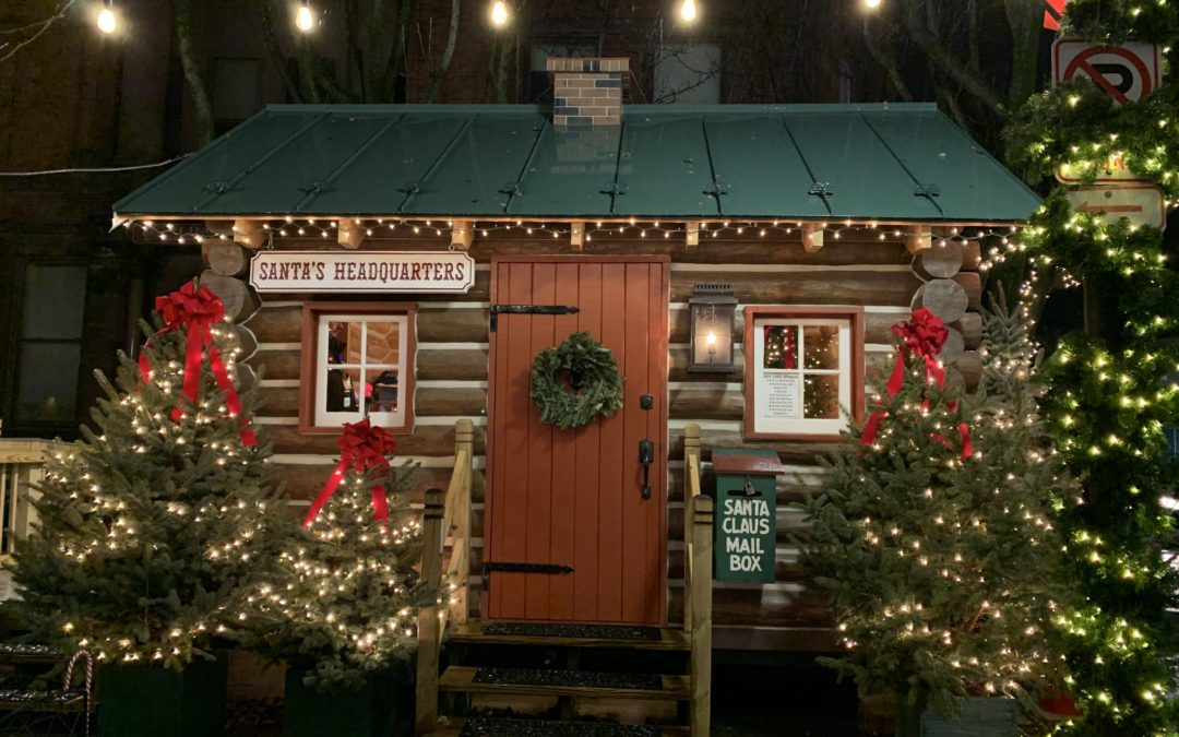 2020 Christmas Announcement – Santa's Cabin is back!